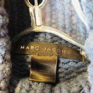 Marc Jacobs Sweaters - Marc Jacobs Knit Top Blue Long Sleeve Turtleneck